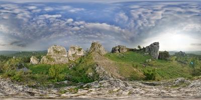 Góra Zborów, Podlesice