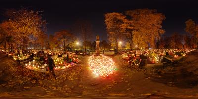 Katowice cmentarz ul.Francuska krzyż