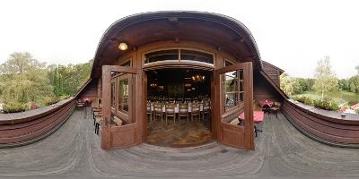 Restauracja Łania balkon