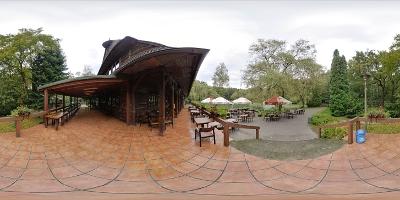 Restauracja Łania taras