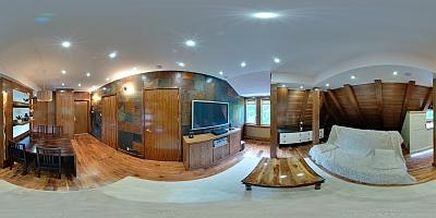 Apartament Orzechowy Salon
